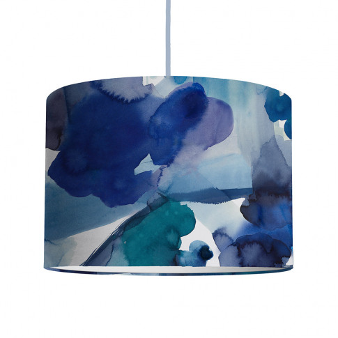 Bluebellgray - Blue Skies Ceiling Lamp Shade - Large