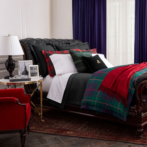 Ralph Lauren Home - Kensington Duvet Cover - Green -...