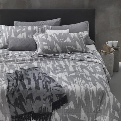 Diesel Living - Graffiti Duvet Set - Grey - Super King