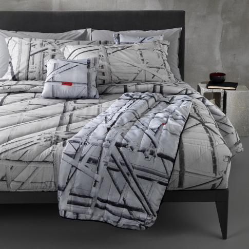 Diesel Living - Work In Progress Duvet Set - Grey - ...