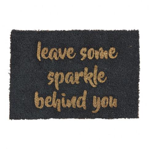 Artsy Doormats - Leave Some Sparkle Behind You Door Mat
