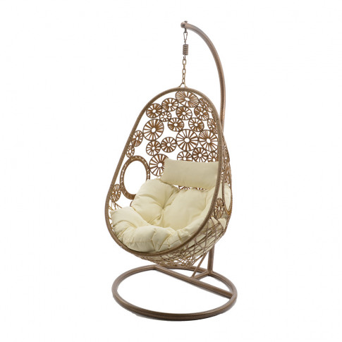 A By Amara - Outdoor Woven Hanging Chair - Natural