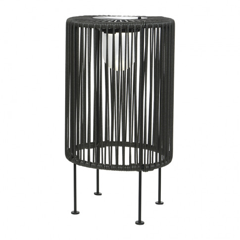 A By Amara - Outdoor Solar Led Wire Table Lamp - Grey