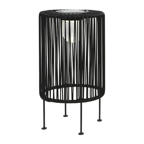 A By Amara - Outdoor Solar Led Wire Table Lamp - Black