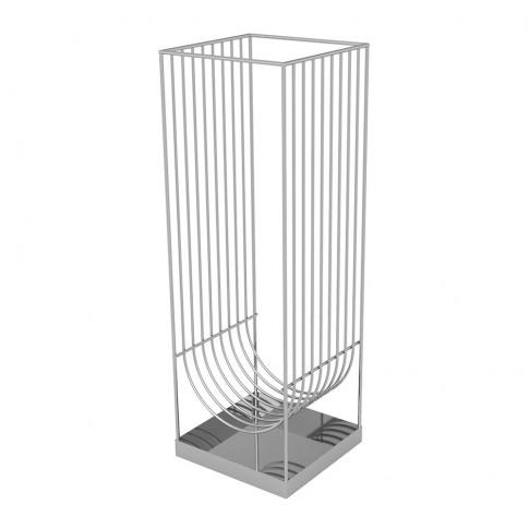 Aytm - Curva Umbrella Stand - Silver