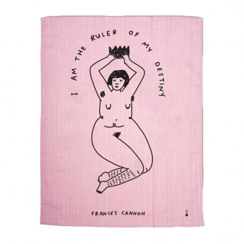Third Drawer Down - Frances Cannon Tea Towel - Ruler...
