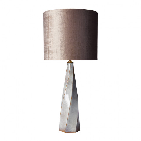 Heathfield & Co - Saha Table Lamp - Bronze