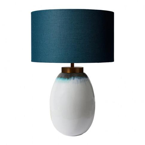 Heathfield & Co - Illulisat Table Lamp - Turquoise