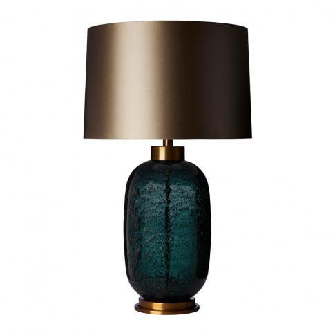 Heathfield & Co - Amelia Table Lamp - Emerald