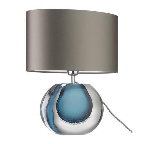 Heathfield & Co - Gaia Table Lamp - Blue
