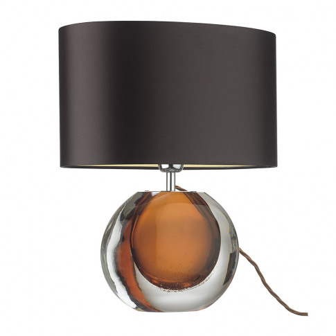 Heathfield & Co - Gaia Table Lamp - Amber