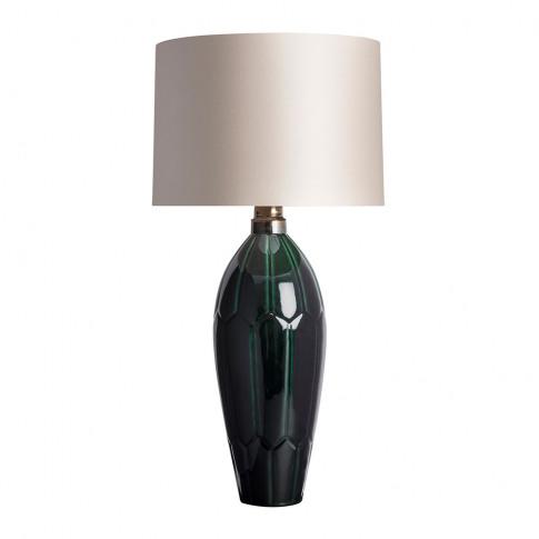 Heathfield & Co - Agave Table Lamp - Emerald