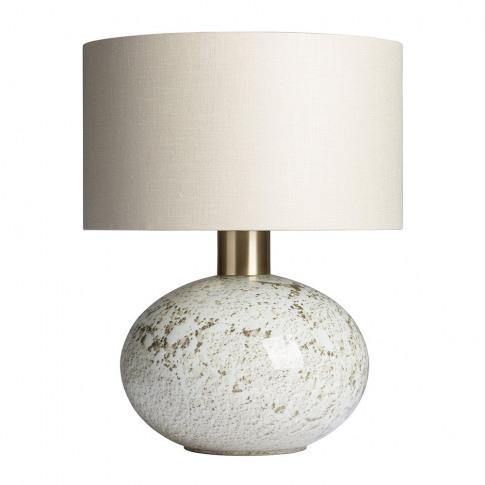 Heathfield & Co - Orion Table Lamp - Suede