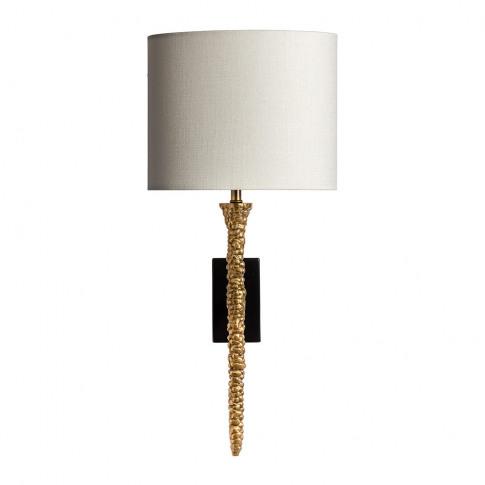 Heathfield & Co - Helene Wall Light - Brass