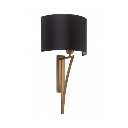 Heathfield & Co - Yves Wall Light - Antique Brass