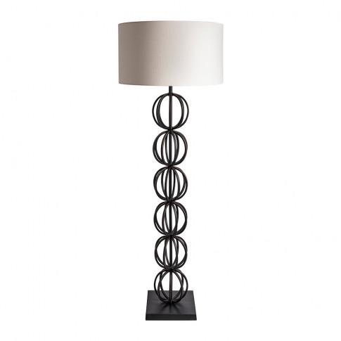 Heathfield & Co - Rollo Floor Lamp - Bronze