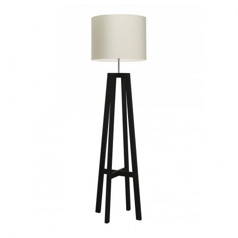 Heathfield & Co - Tripod Floor Lamp - Wenge