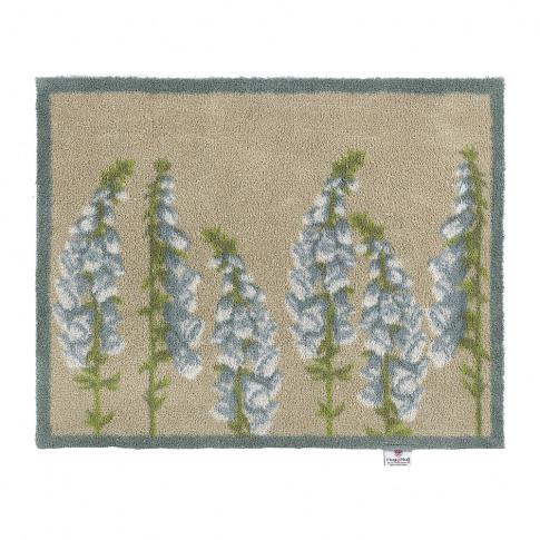Hug Rug - Floral Washable Recycled Door Mat - 65x85cm