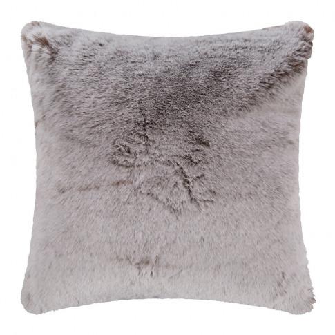 Evelyne Prélonge - Faux Fur Cushion - Chestnut - 45x...