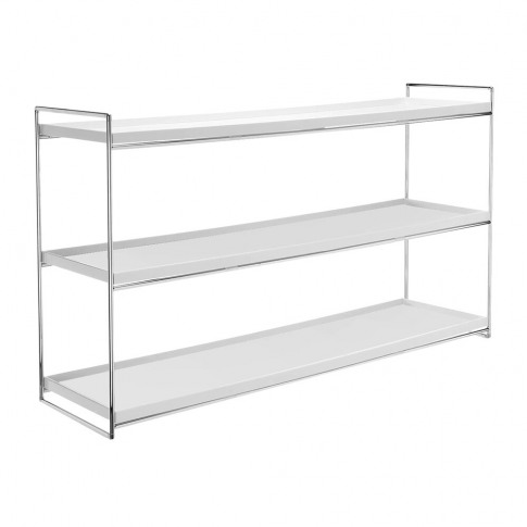 Kartell - Trays Shelving Sideboard - White