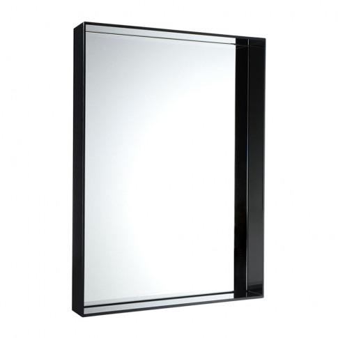 Kartell - Only Me Mirror - Glossy Black - 180x80cm