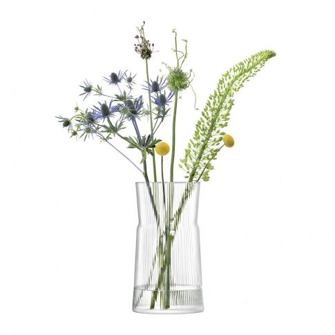 Lsa International - Gio Line Lantern/Vase - Clear - ...