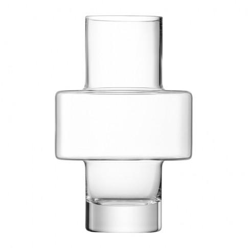 Lsa International - Metropole Vilnius Vase - Clear
