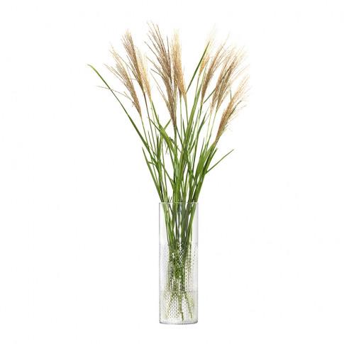 Lsa International - Wicker Vase - Clear