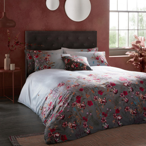 Ted Baker - Fern Forest Duvet Cover - Shadow - Double