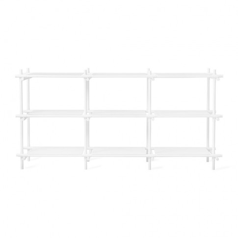 Menu - Stick Shelving System - White