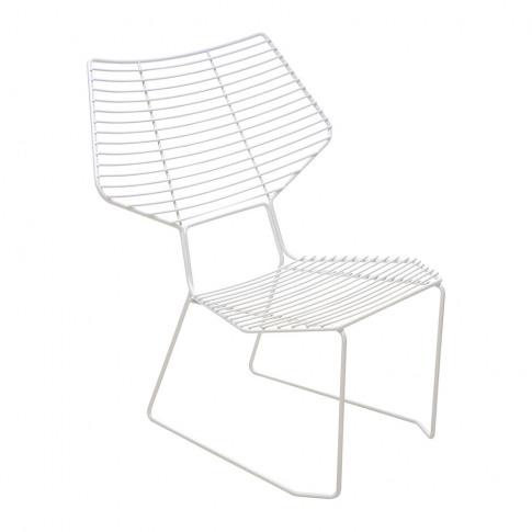 Horm & Casamania - Alieno Peacock Lounge Chair - White