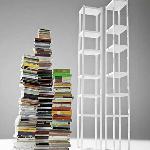 Horm & Casamania - Singles Bookcase - White