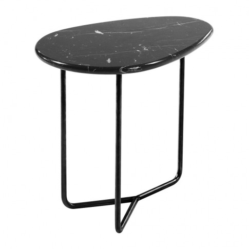 Horm & Casamania - Lily Marble Side Table - Marquina