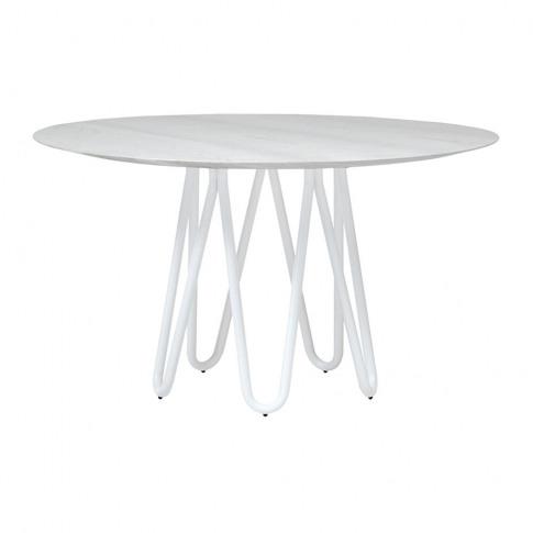 Horm & Casamania - Meduse Dining Table - White/Polis...