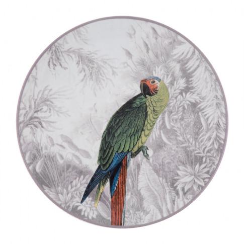 Les Ottomans - La Menagerie Porcelain Plate - Parrot