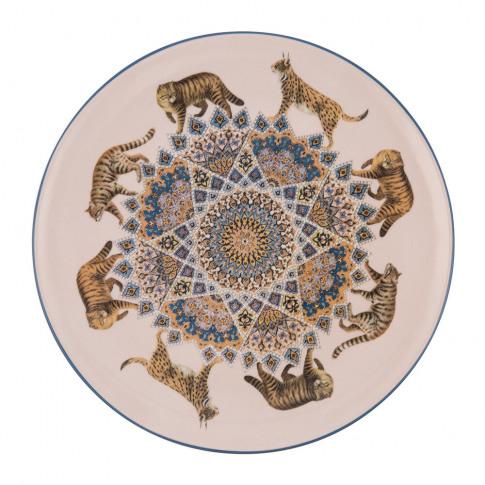Les Ottomans - Constantinople Porcelain Plate - Cats