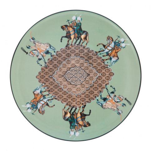 Les Ottomans - Constantinople Porcelain Plate - Horse