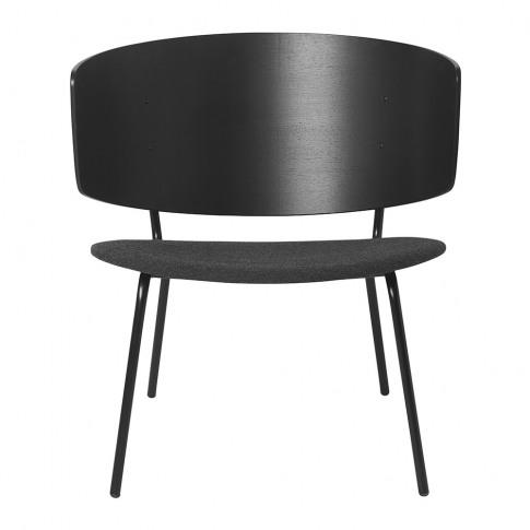 Ferm Living - Herman Lounge Chair - Black/Dark Grey