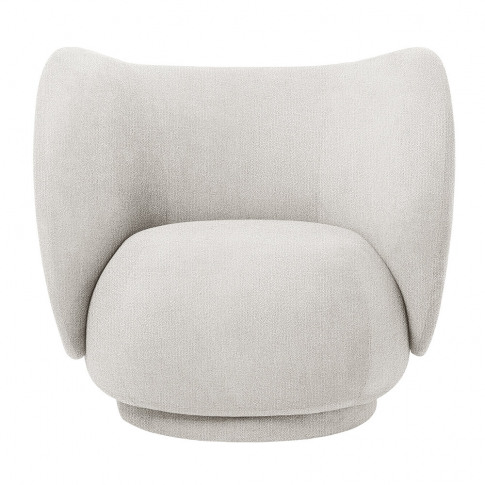 Ferm Living - Rico Boucle Lounge Chair - Off White