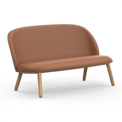 Normann Copenhagen - Ace Ultra Leather Sofa - Oak