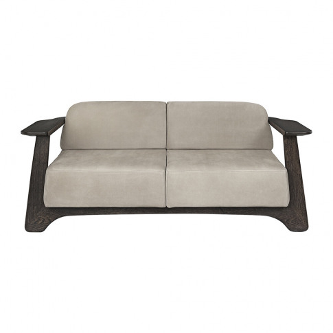 Mater - Legacy Sofa - Royal Nubuck/Almond Leather
