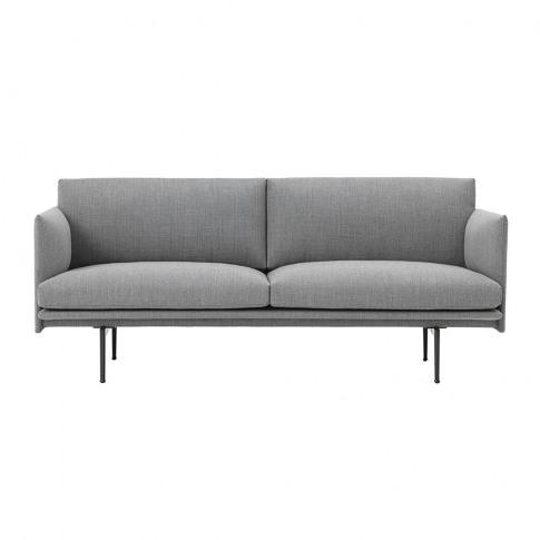Muuto - Outline 2 Seater Sofa - Fiord 151