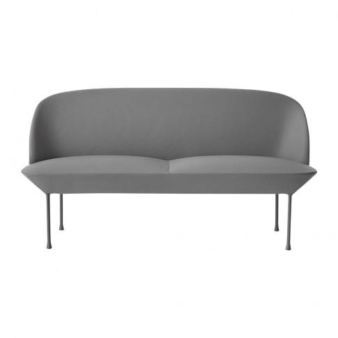 Muuto - Oslo Two Seater Sofa - Steelcut 160/Light Grey