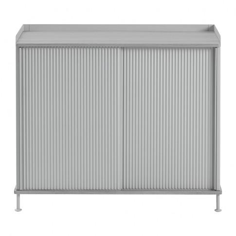 Muuto - Enfold Tall Sideboard - Grey