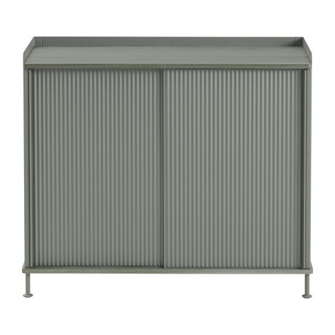 Muuto - Enfold Tall Sideboard - Dusty Green