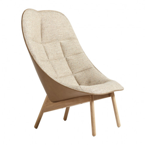 Hay - Uchiwa Quilted Armchair - Natural