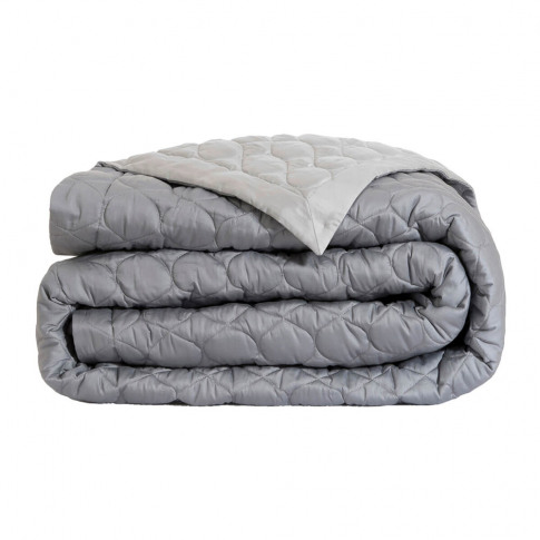 Alexandre Turpault - Montaigne Quilted Bedspread - 260x240cm - Silver/Steel
