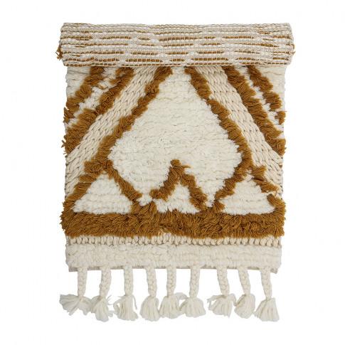 Bloomingville - Abstract Wool Rug - Multi