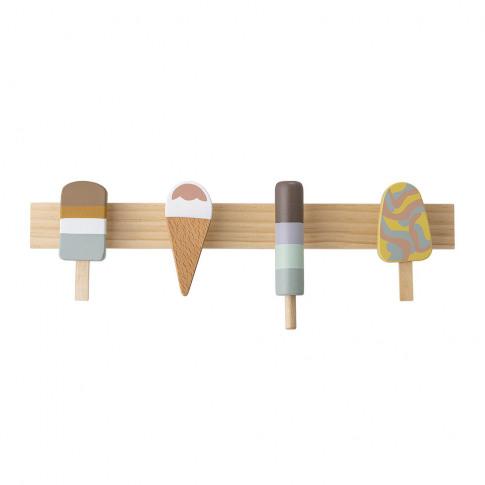 Bloomingville - Ice Cream Coat Rack - Beech