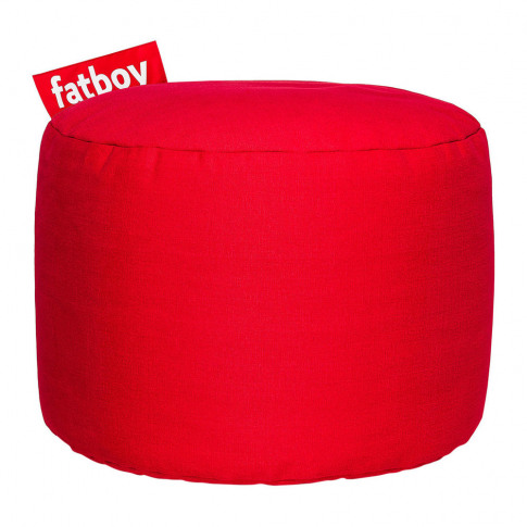 Fatboy - The Point Stonewashed Pouf - Red